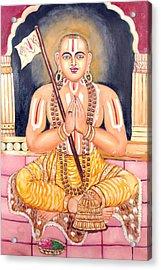 Srimadh Ramanujar Acrylic Print by Sankaranarayanan