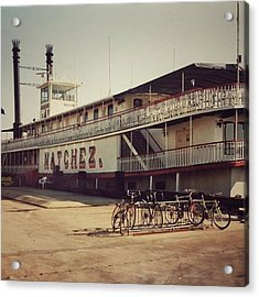 Ss Natchez, New Orleans, October 1993 Acrylic Print