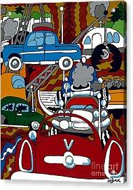 Ss Studebaker Acrylic Print