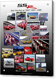 Ssr Sets The Pace 2003-2006 Acrylic Print by Howard Kirchenbauer