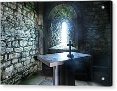 St Adhelm's Chapel - England Acrylic Print
