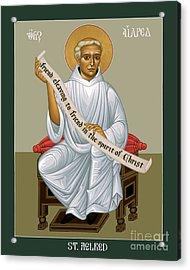 St. Aelred Of Rievaulx - Rlaor Acrylic Print