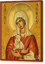 St. Agnes - Jcagn Acrylic Print