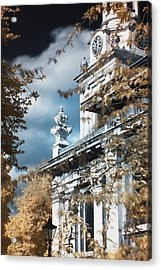 St Alfege Parish Church In Greenwich, London Acrylic Print by Helga Novelli