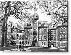 St. Ambrose University Ambrose Hall Acrylic Print