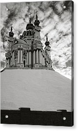 St. Andrew Church. Kyiv, 2014. Acrylic Print