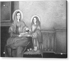 St. Anne And Bvm Acrylic Print