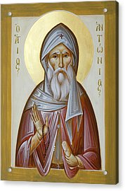 St Anthony The Great Acrylic Print
