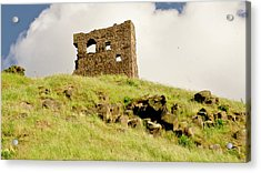 St. Anthony's Chapel Ruins. Acrylic Print