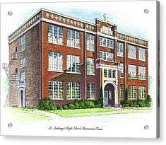 St. Anthony's High School Acrylic Print