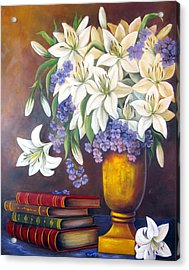 St. Anthony's Lilies Acrylic Print