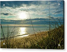 St Aug Sunrise Acrylic Print by Josy Cue