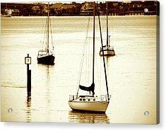 St. Augistine Harbor 2 Acrylic Print by Alan Hausenflock