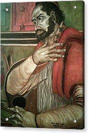 St. Augustine Acrylic Print