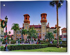 St. Augustine, Fl - Lightner Lights Acrylic Print