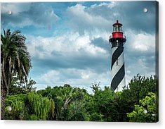 Acrylic Print featuring the photograph St. Augustine Lighthouse by Louis Ferreira