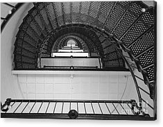St. Augustine Lighthouse Spiral Staircase IIi Acrylic Print by Clarence Holmes