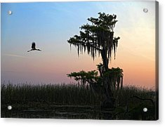 St Augustine Morning Acrylic Print