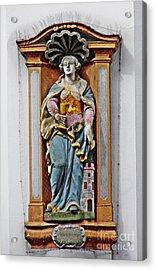 St Barbara Acrylic Print by Sarah Loft