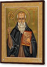 St. Benedict Of Nursia - Jcbnn Acrylic Print