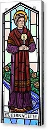 Saint Bernadette  Acrylic Print