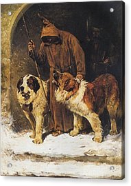 St. Bernards To The Rescue Acrylic Print