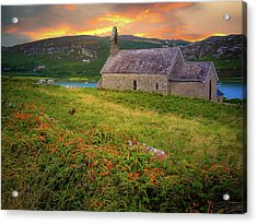 St. Brendan The Navigator Church Of Ireland In Crookhaven Acrylic Print