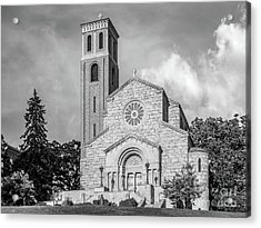 St. Catherine University Our Lady Of Victory Chapel Acrylic Print by University Icons