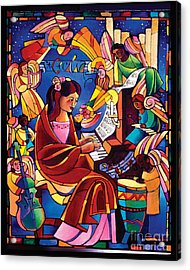 St. Cecilia - Mmcca Acrylic Print