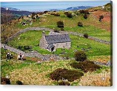 St Celynnins Old Church, Llangelynnin Acrylic Print