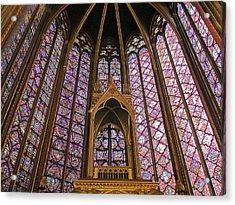 St Chapelle Paris Acrylic Print