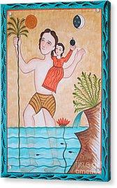 St. Christopher - Aochs Acrylic Print