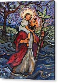 St. Christopher Acrylic Print
