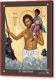 St. Christopher - Rlctr Acrylic Print
