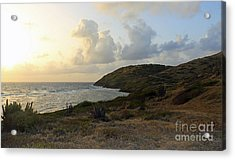 St. Croix Sunrise  Acrylic Print by Mary Haber