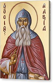 St David Of Evia Acrylic Print