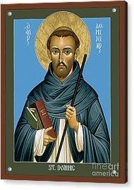 St. Dominic Guzman - Rldmg Acrylic Print