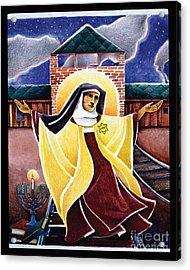 St. Edith Stein - Mmedi Acrylic Print