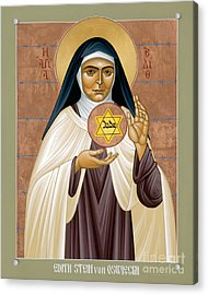 St. Edith Stein Of Auschwitz - Rleds Acrylic Print