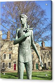 St Edmunds Statue Acrylic Print