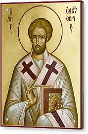 St Eleftherios Acrylic Print
