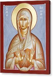 St Elizabeth Acrylic Print