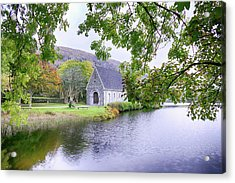 St. Finbarre's Church - Alternate Processing Acrylic Print