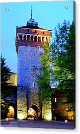 Acrylic Print featuring the photograph St. Florian's Gate by Fabrizio Troiani