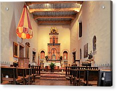 St Francis Chapel At Mission San Diego Acrylic Print by Christine Till