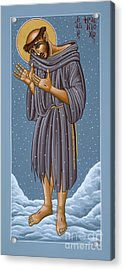 St Francis Wounded Winter Light 098 Acrylic Print