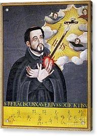 St. Francis Xavier Acrylic Print by Granger