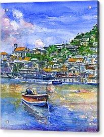 St. George Grenada Acrylic Print