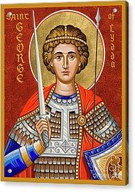 St. George Of Lydda - Jcgly Acrylic Print