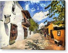 St. George Street Acrylic Print